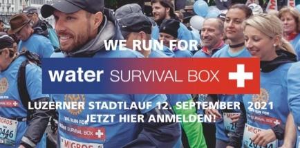 DER ROTARY SOLIDARITÄTSLAUF Sonntag 12. September 2021 am Luzerner Stadtlauf